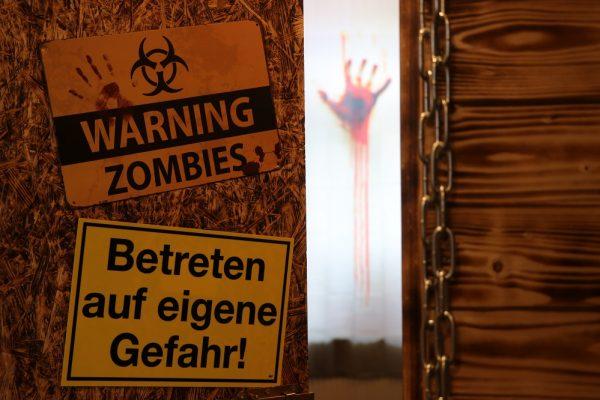 Vorsicht in diesem Escape Room